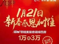 1月21日新春感恩加推,认筹倒计时!!